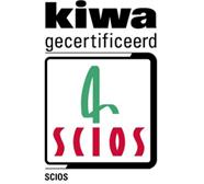 Kiwa gecertificeerd Scios